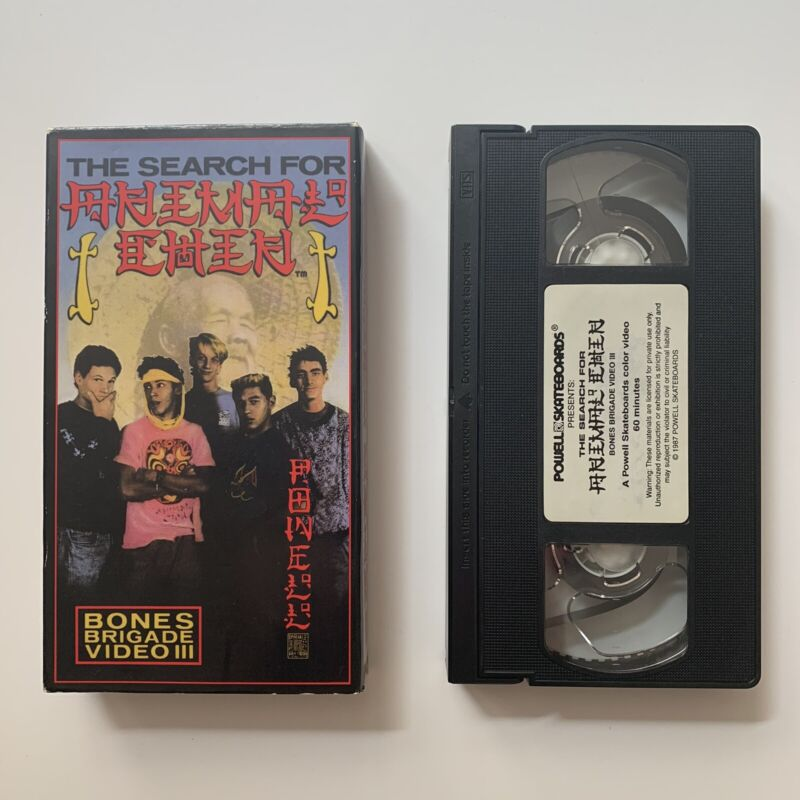 1987 Powell Peralta The Search For Animal Chin VHS Skate Video Skateboard