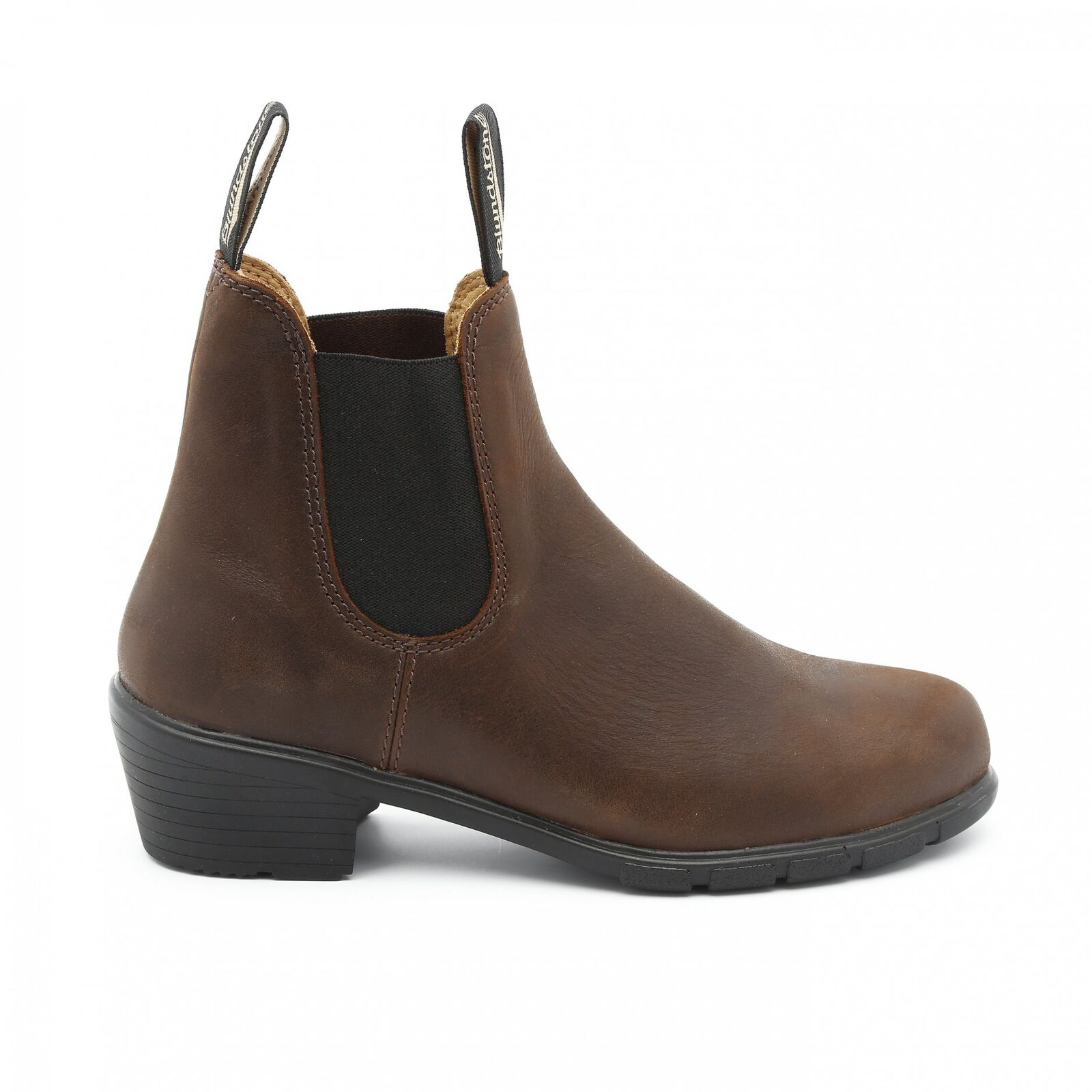 NEW Blundstone Style 1673 Brown Heeled Boot Leather For Women