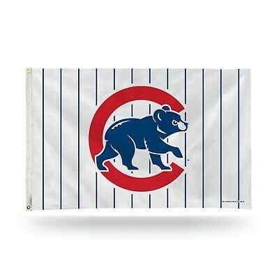 Chicago Cubs - MLB - Outdoor 3x5 Flag - Stripes