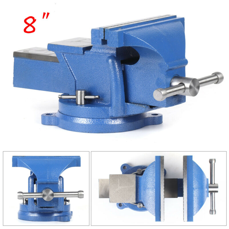 8 Inch Mechanic Bench Vise Table Top Clamp Press Locking Swi