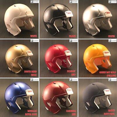 Blank Football Helmet (Riddell Blank Speed Mini Football Helmet Shell (Various Colors) (NO)