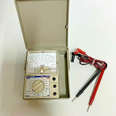Hioki Multimeter Model 3000 Made In Japan Rare Vintage