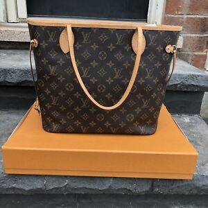 Authentic Louis Vuitton Neverfull  MM - used once