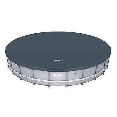 Bestway 18' Round PVC Above Ground Pool Debris Cover for Steel ProTM Frame Pools