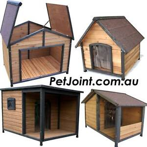 XL Indoor Outdoor Pet Wood Home Quality Wooden Dog House Kennel PetJoi