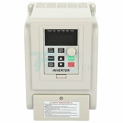 New 2hp 220v 1.5kw Variable Frequency Drive Single To 3 Phase Speed Controller