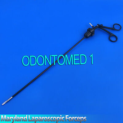 Maryland Dissector Curved Laparoscopic Forceps 330mm Laparoscopylp-037