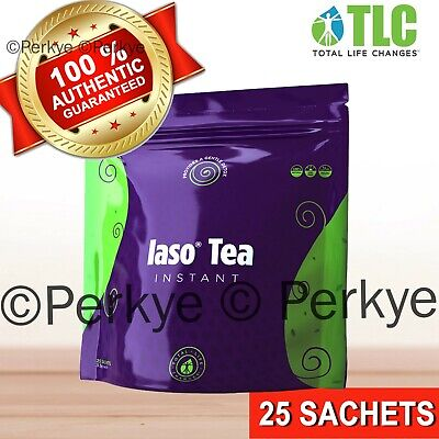 TLC IASO INSTANT DETOX TEA 25 Sachets_New in bag_ Total Life Changes