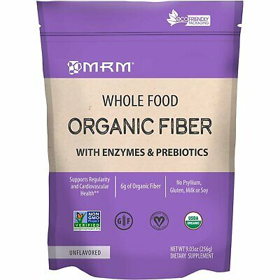 MRM  Whole Food  Organic Fiber with Enzymes and Prebiotics