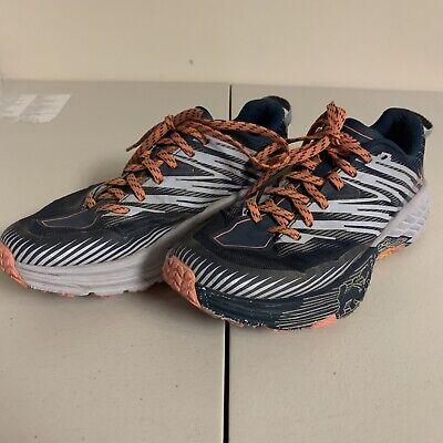 HOKA ONE ONE Women's SPEEDGOAT 4 1106527/MBHH Trail Running Shoes Size 8.5
