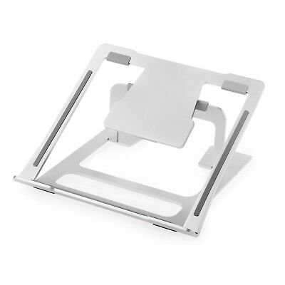 MACBOOK Portable Riser Computer Desk Stand for Laptops Notebooks - Aluminium