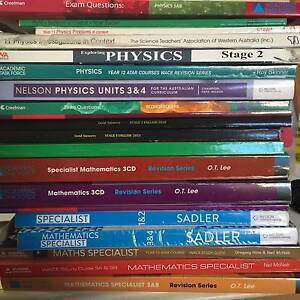 Year 11 12 Textbook Maths English Physics Economics yr12 book Morley Bayswater Area Preview