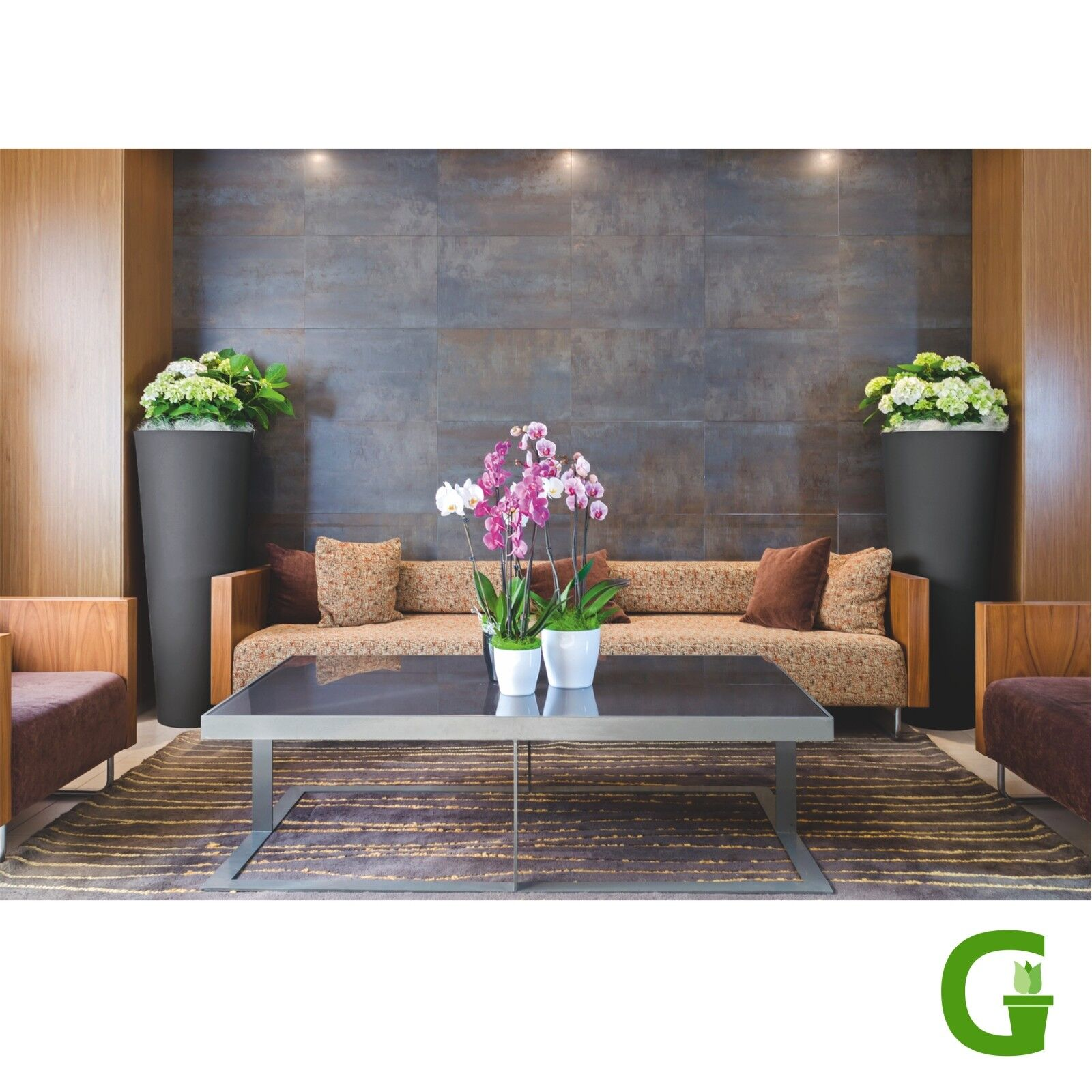 toscana pflanztopf 100 cm hoch pflanzk bel kunststoff blumenk bel modern eur 89 00 picclick de. Black Bedroom Furniture Sets. Home Design Ideas