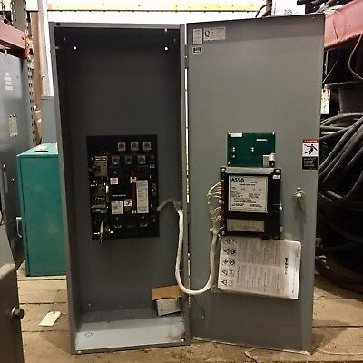 Asco Automatic Transfer Switch 225 Amps 208 Volts 60hz 3 Phase