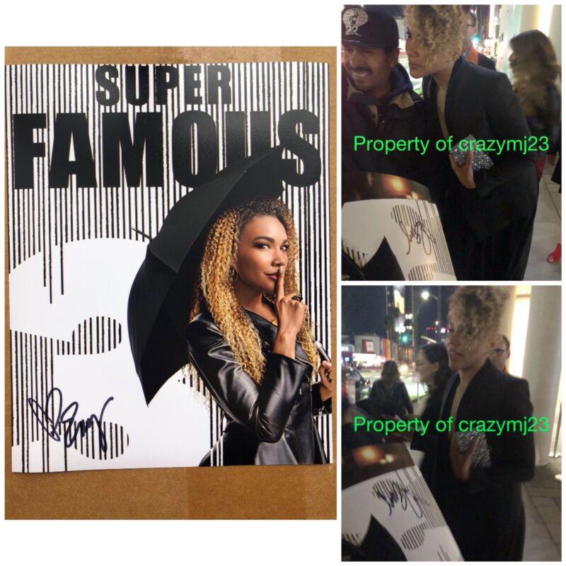 Emmy Raver-Lampman Signed The Umbrella Academy Allison Autograph Auto Netlifx