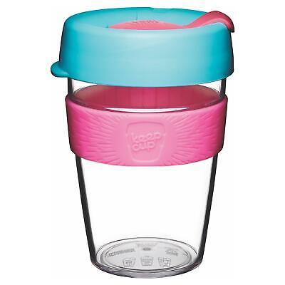 KeepCup Original Clear Reusuable Coffee Cup Travel Mug - 340ml / 12oz - Radiant