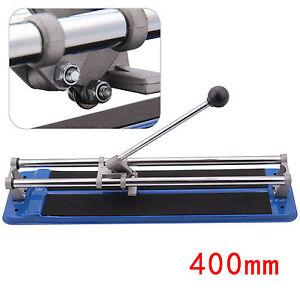Heavy Duty 400mm Tile Saw Manual Hand Floor Wall Tile Cutter Cutting Machine UK