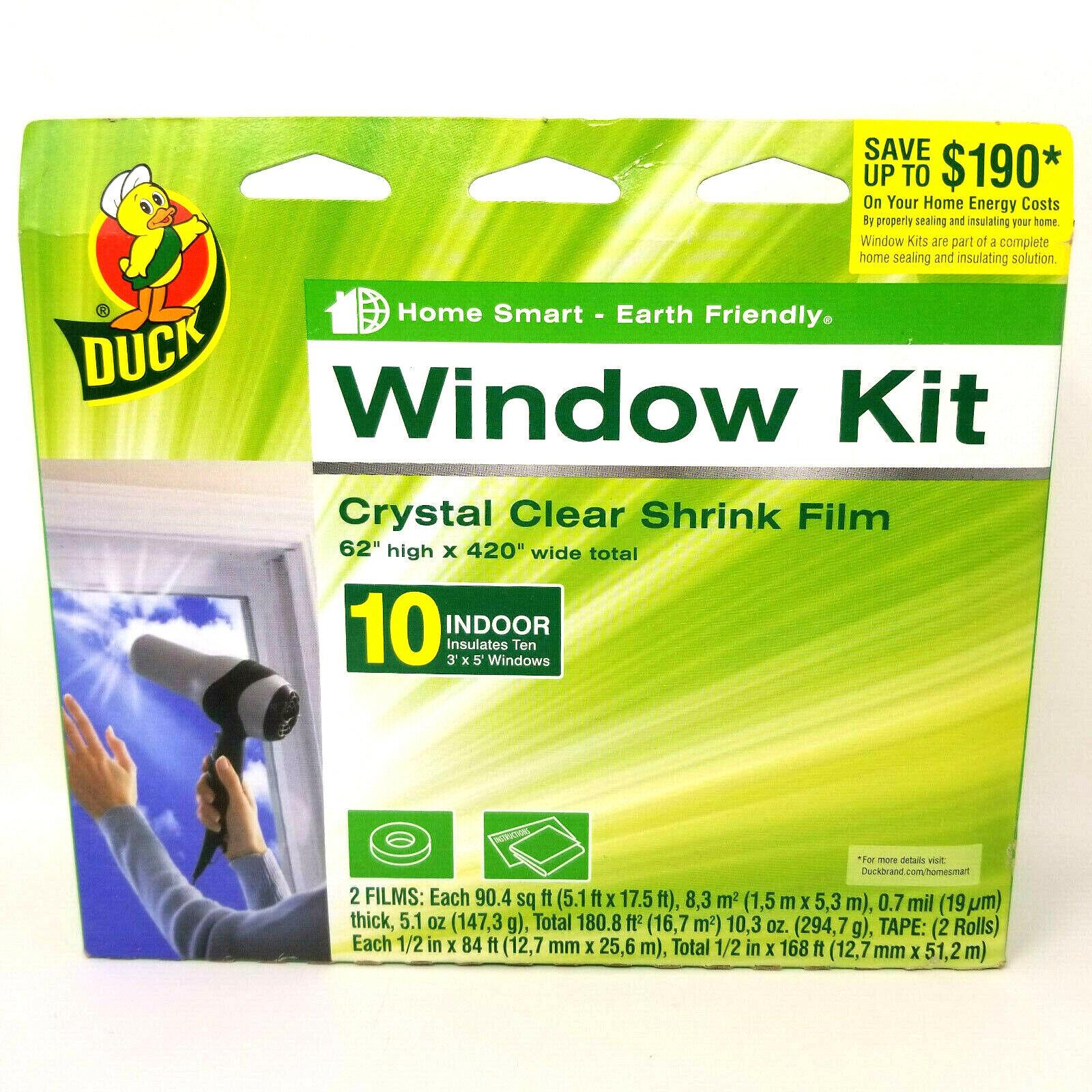 Brand 62-Inch by 420-Inch 10-Window Shrink Film Window Insul