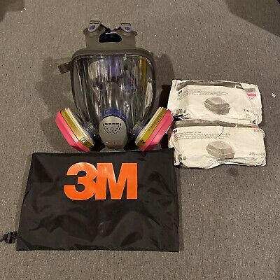 3m Ff-402 Ultimate Fx Full Facepiece Reusable Respirator Med W2 Set Filters