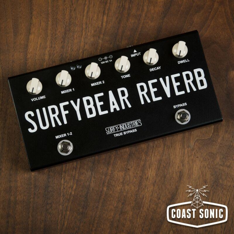 Surfy Industries SurfyBear Compact Reverb Unit *Black*