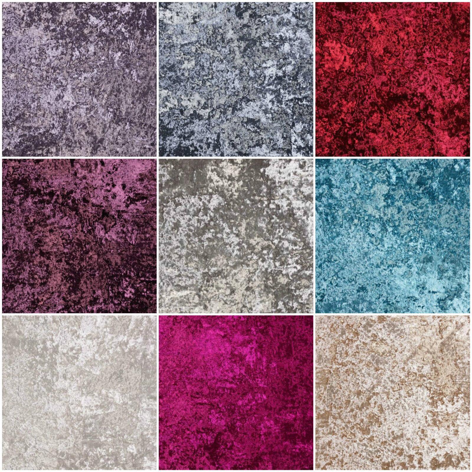 Fibre Naturelle Panther Crushed Velvet Designer Curtain Upholstery Fabric Ebay