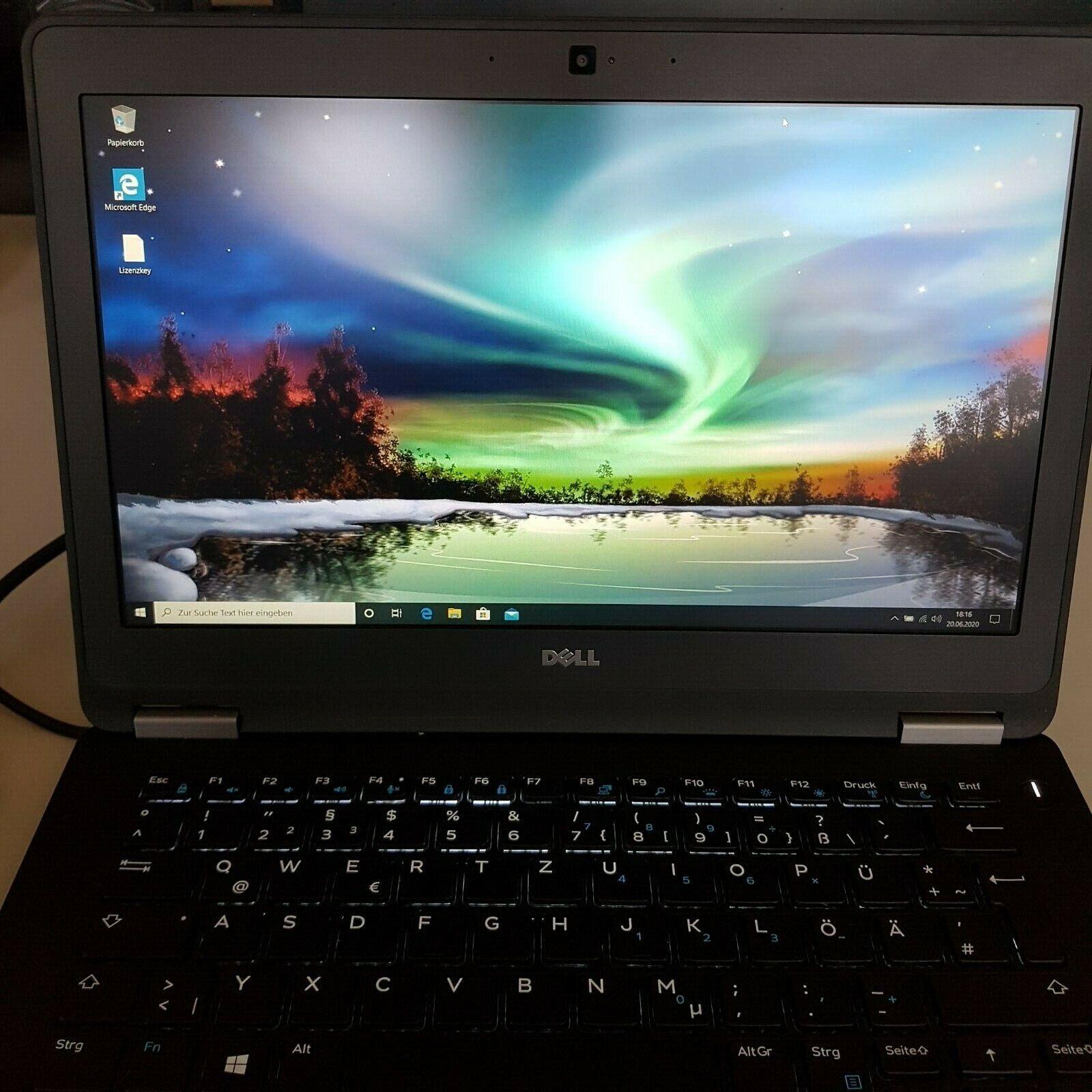 DELL Latitude E7270 12,5″ SSD--256GB,RAM-8GB HDMI/Mini DP,LTE, Bluetooth,WLAN