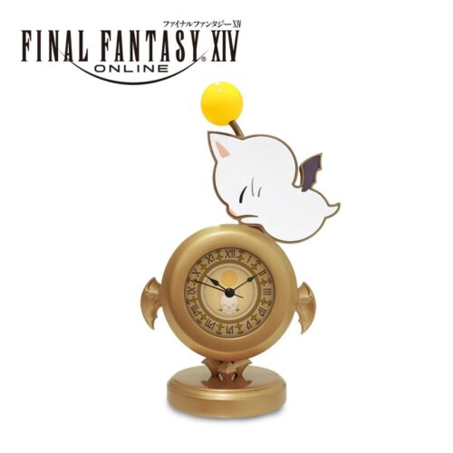 Final Fantasy XIV Moogle Desk Clock Taito Limited Assorted Ver. yellow