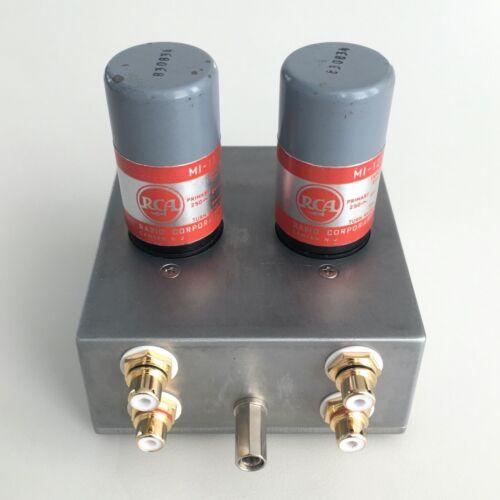 RCA MI-12399 MC Step Up Transformers for turntable phono cartridge SUT