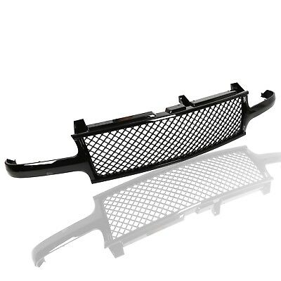 00 Chevy Chevrolet Tahoe Grille - For 1999-02 Chevy Silverado/2000-06 Suburban/Tahoe Mesh Front Hood Grille Grill