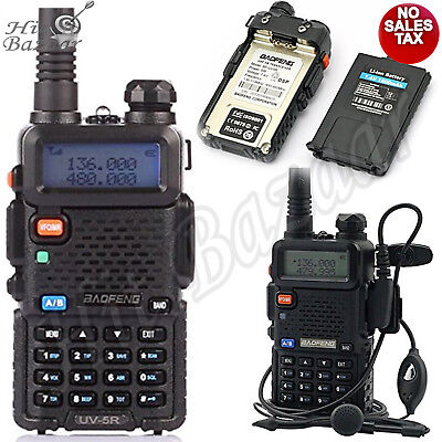 (POLICE RADIO SCANNER Handheld Fire Transceiver Dual Band Two Way Digital Unit)