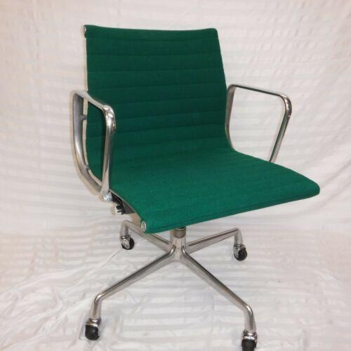 Refurbished Herman Miller Eames Aluminum Group Management Chair  -  GREEN