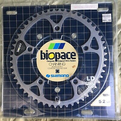 Shimano Biopace-SG 46T Chainring 110mm BCD Silver