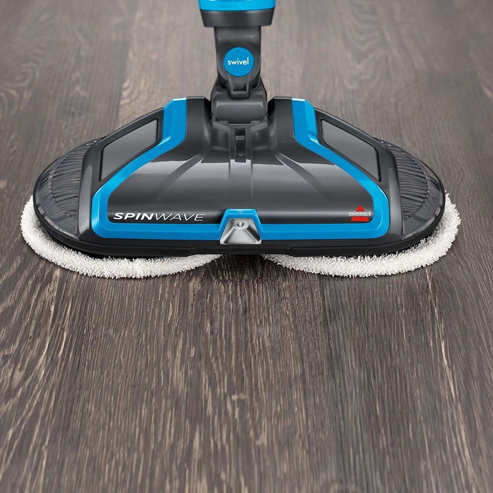 BISSELL Spinwave Plus Hard Floor Cleaner Floor Scrub Mop Sof