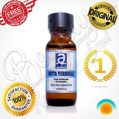 Homeopathic Organic Skin Tag Wart Mole Remover Quita Verrugas Removedor Verruga