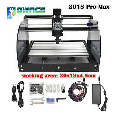 3 Axis 3018 Pro Max Cnc Engraver Diy Grbl Control Mini Machine Pcb Milling Wood