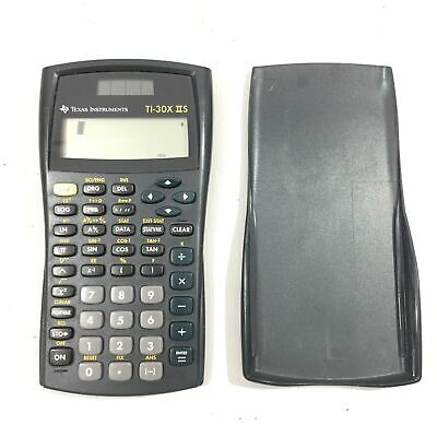 Texas Instruments TI 30X II S Scientific Calculator Solar