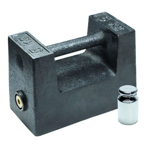 5 KG Cast Iron Calibration Weight with 200g Test Weight