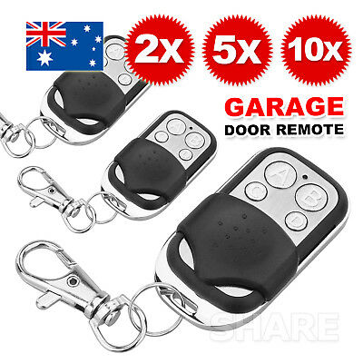 Universal Replacement Garage Door Car Gate Cloning Remote Control Key Fob 433