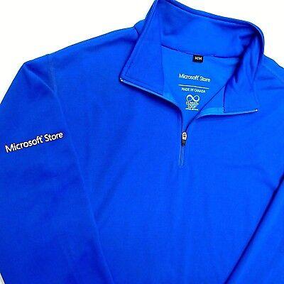Stores Close By (MICROSOFT STORE Employee Shirt by Closed Loop Royal Blue Warmup Medium)