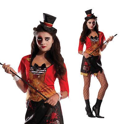 Rubies Women Mauled Ringmistress Halloween Circus Lion Tamer Fancy Dress Costume