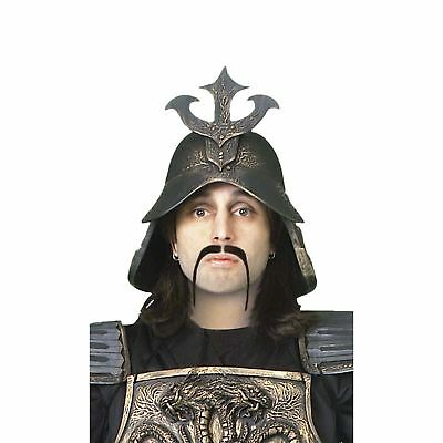 Adult Men's Hun Warrior Fu Manchu Moustache Costume Facial Hair Accessory - Fu Manchu Mustache Costume