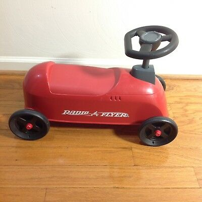 CLASSIC RADIO FLYER RED RIDE ON BICYCLE SCOOTER RARE MODEL 500 USA Made Toddlers