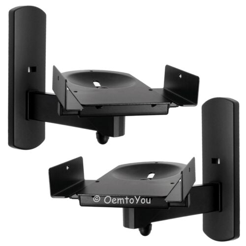 Side Clamping Speaker Wall Mounts Bracket for Surround Sound