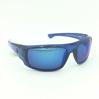Salt Life LA JOLLA Men's Sport Sunglasses ~ Crystal Sapphire w/ Smoke Blue (La Jolla Sunglasses)