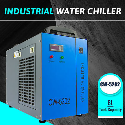 6l Water Chiller For Cnc Laser Engraver And Tool Machine Co2 Laser Tube Cooling