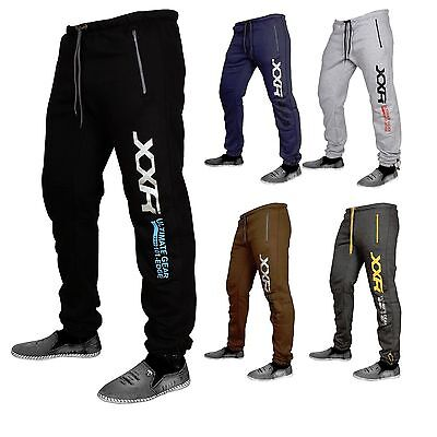 XXR Deluxe Fleece Joggers Tracksuit Bottom Gym Jogging Exercise Clothing MMA Fit