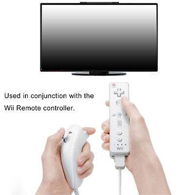 Купить WowParts W66612OA - 2PCS Nunchuk Nunchuck Controller Remote for Nintendo Wii Console Video Game New