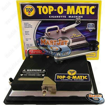 TOP-O-Matic Best Cigarette Maker Tobacco Injector Machine Making King 100s
