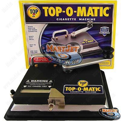 TOP-O-Matic Best Cigarette Maker Tobacco Injector Machine Making King 100s (Best Cigarette Making Machine)