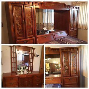 Meubles en bois solide /meuble tiroirs/bedroom dresser & drawers
